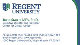 Regent university purchasing department stationery and business one line title with three phone numbers fbccfo Gallery
