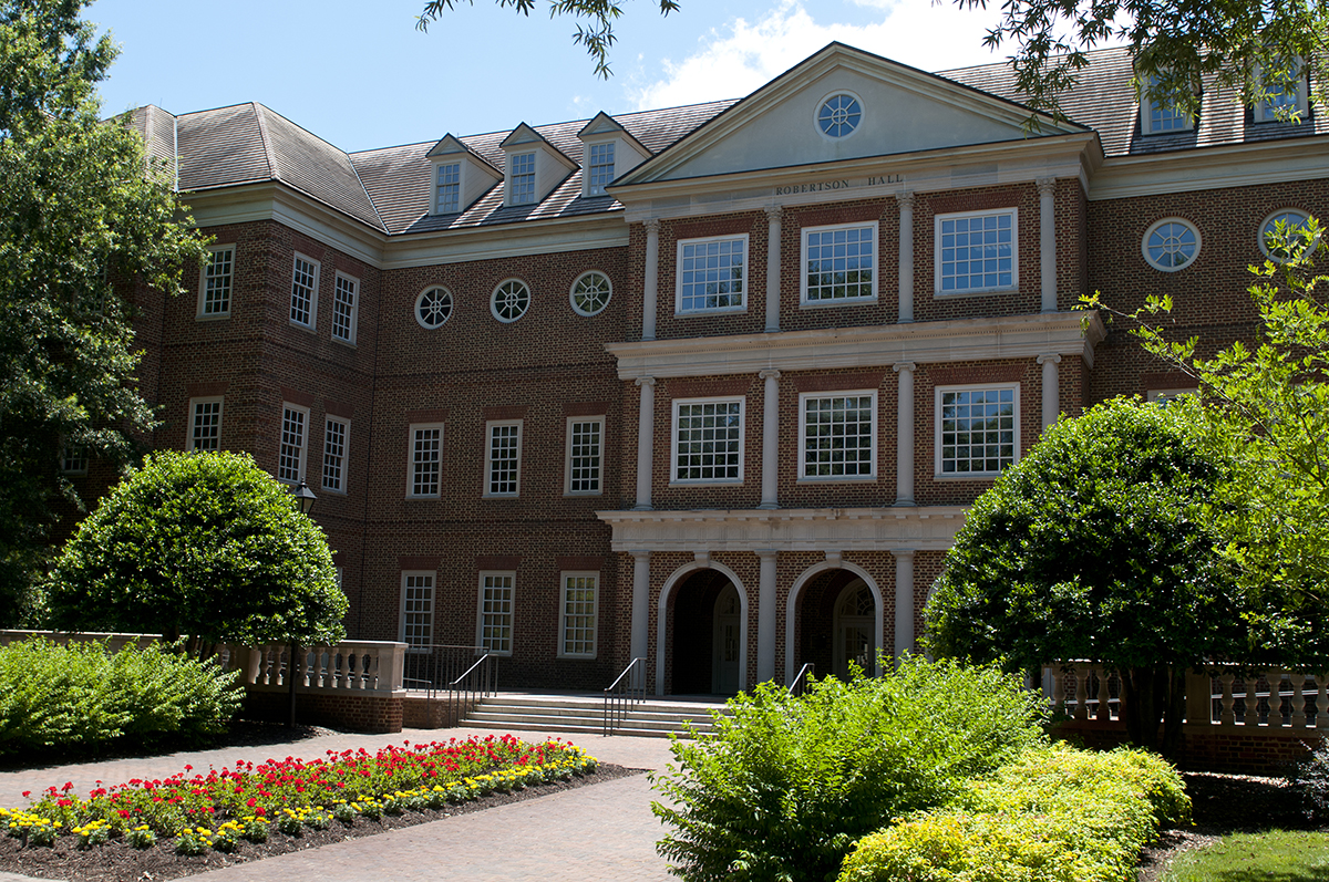 Robertson Hall is an impressive part of Regent University's Virginia Beach campus.