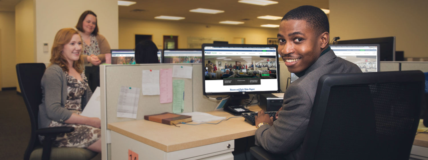 Regent's financial aid team works closely with students to design customized packages.