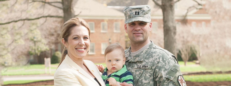 Regent University is a Military Spouse Career Advancement Account (MyCAA) school.