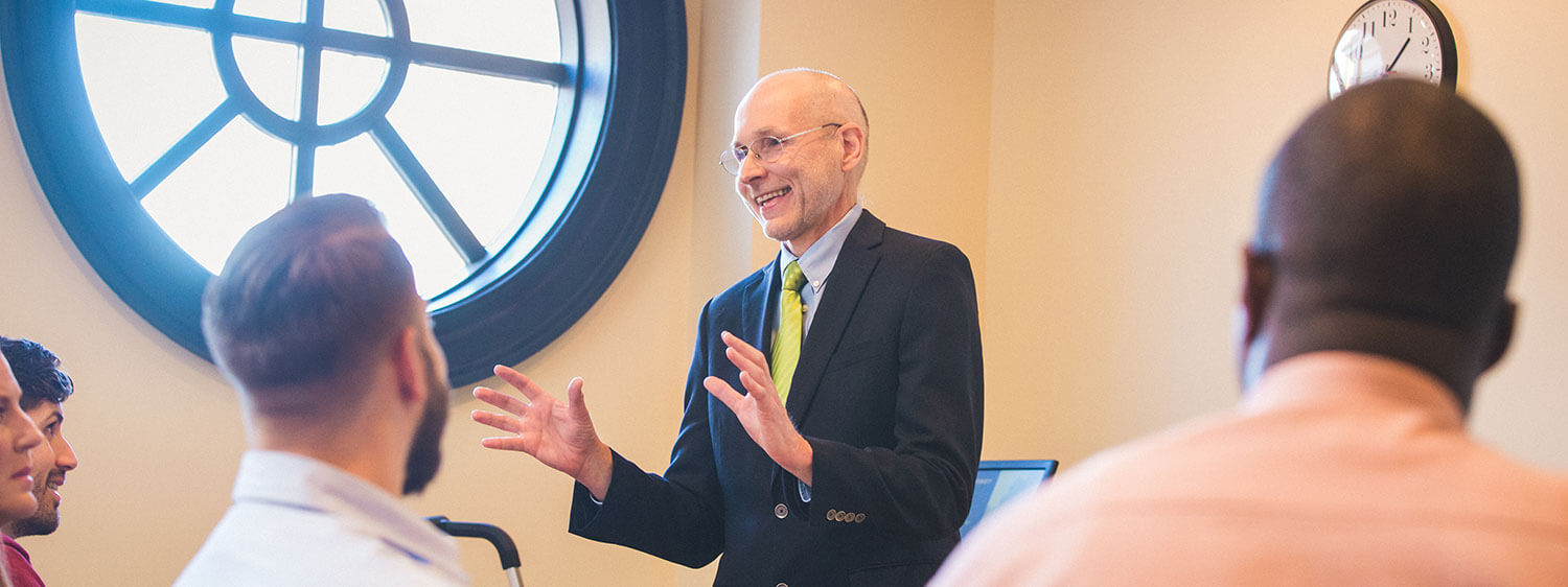 Regent University's faculty believes in investing in the lives of students.