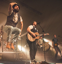 The Rend Collective. Photo courtesy of Alex Perry.