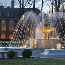 Fountain-in-Front-of-Library_Evening-X2_sec