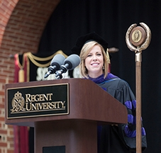Kristen Waggoner '97 (LAW). Photo courtesy of Alex Perry.