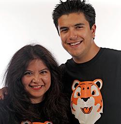 Regent alumni Raquel Sangalang and Justin Garcia. Photo courtesy of Raquel Sangalang.