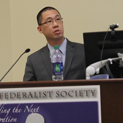 Elbert Lin, solicitor general for the Office of the West Virginia Attorney General.