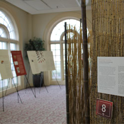 The Stepping into Silence exhibit.