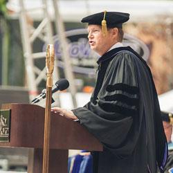 Regent University alumnus Pastor Daniel Backens.