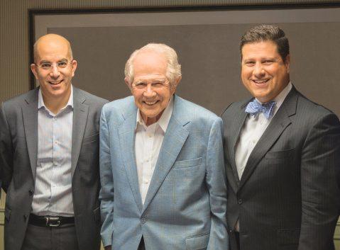 Adi Dar, Dr. Pat Robertson and Dr. Gerson Moreno-Riano