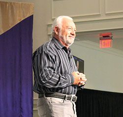 Christian leaders from around the nation spoke during the week of chapel services.