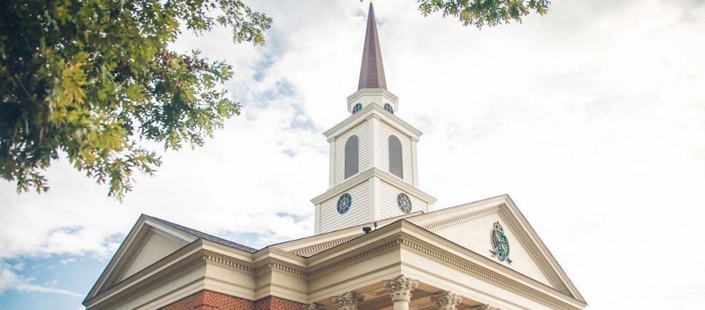 Visit Regent University's beautiful chapel, located on its campus in Virginia Beach, VA 23464.