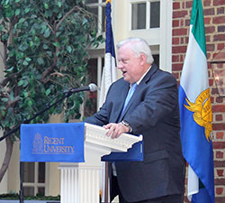 The Regent University Law Review hosted its annual symposium.