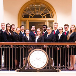Regent University's team put on an impressive performance at American Moot Court Association's regional tournament.