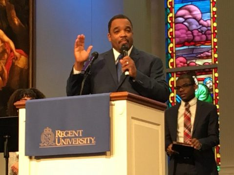 Pastor Mark Lawrence, director of Regent's Campus Ministries.