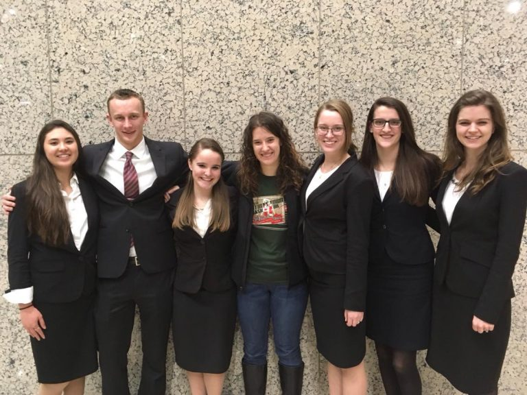 Regent University's undergraduate moot court team.