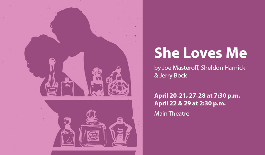 She Loves Me, the classic musical comedy, opens at Regent University's Dede Robertson Theatre.