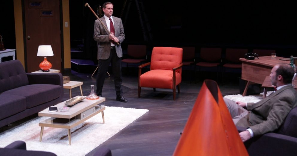 Regent University's Tidewater Stage presented Dial M for Murder.