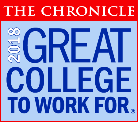The Chronicle | Great College to Work For | 2018