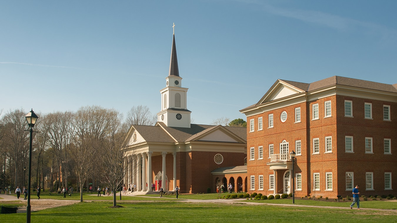 The chapel of Regent University, Virginia Beach, VA 23464.