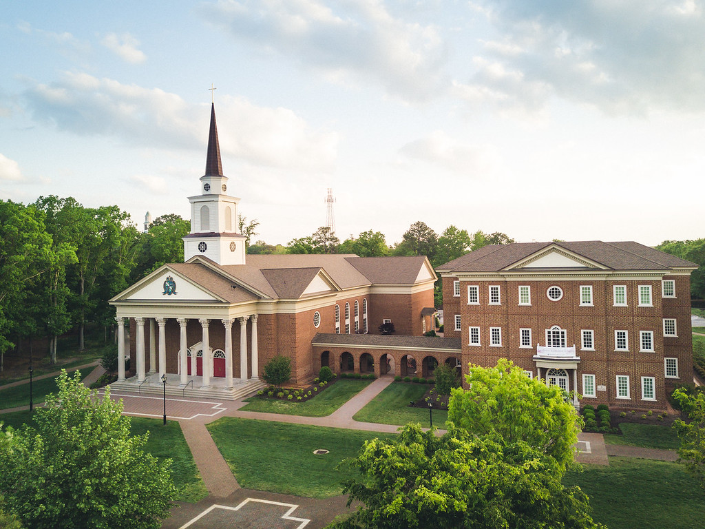 Regent University's campus in Virginia Beach was ranked among the top 20 best college campuses in America by Niche, 2019-20.