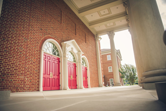 The School of Communication & the Arts of Regent University, Virginia Beach, which is one of the buildings included in a campus tour.