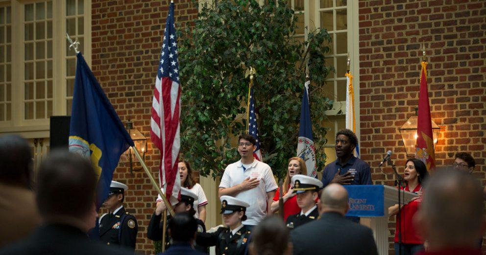 Regent University Military Resource Center's annual Veterans Prayer Breakfast.