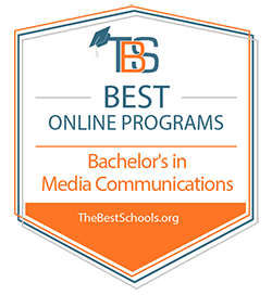 TBS Best Online Programs - Bachelor's in Media Communications - TheBestSchools.org