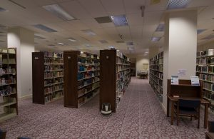 Regent University's library, a treasure trove.