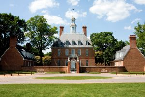 Colonial Williamsburg is about an hour's drive from Regent University, Virginia Beach, VA 23464.
