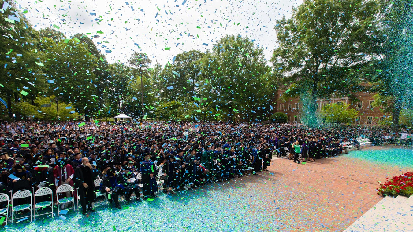 Regent University's 2019 Commencement ceremony held on campus in Virginia Beach, VA 23464.