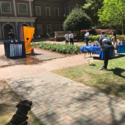 """Regent University's law school students put the """"fun"""" back in fundraising at their annual Dunk-a-Dean."""