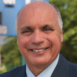 Regent University's athletic director, Dr. Samuel Botta.