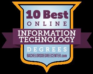 Top 10 Best Online Information Technology Degrees | BachelorsDegreeCenter.com, 2019.