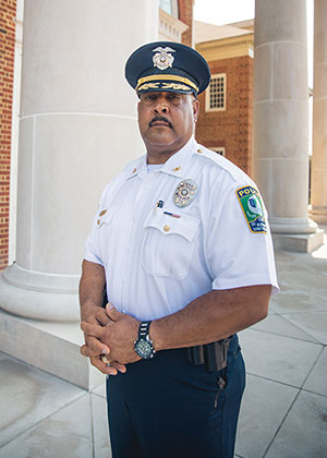Chris Mitchell, Regent University's Campus Police Chief.