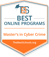 Regent University Ranked #31 Among the 50 Best Online Master's in Cybercrime Programs | TheBestSchools.org, 2019.