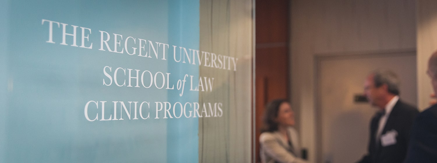 Regent law school commemorated the grand opening of Grace Community Law Clinic in downtown Norfolk, Virginia.