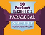 Regent University Ranked #6 on Top 10 Fastest Online Paralegal Degree Bachelor's Programs for 2020 | BachelorsDegreeCenter.org