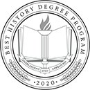 Regent University ranked #50 of the top 60 online history degree programs | Intelligent.com