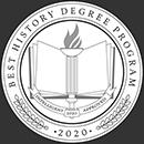 Regent University ranked #50 of the top 60 online history degree programs | Intelligent.com