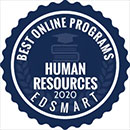 Regent University Ranked #13 of 30 Best Online Bachelor's in Human Resources Degree Programs | EDsmart, 2020