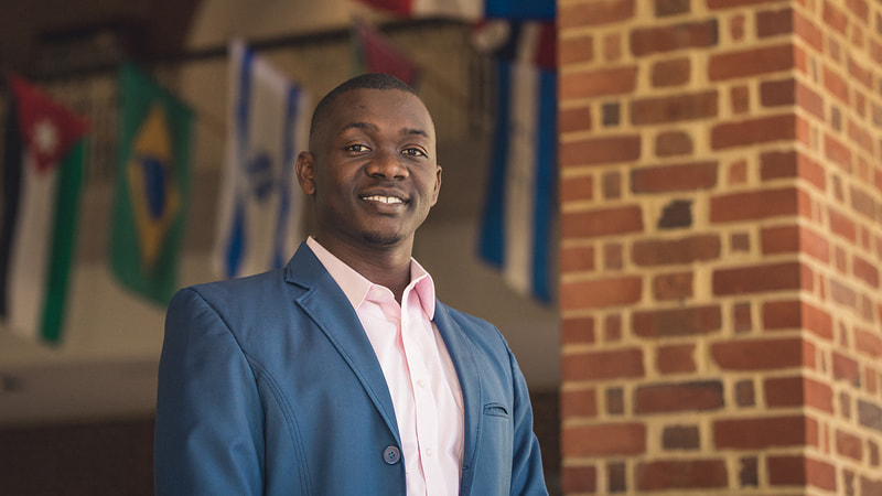 A doctoral student at Regent University, Boniface Odong grew up in conflict-ravaged Uganda.