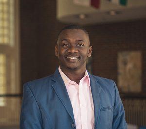Boniface Odong, an international student at Regent University.