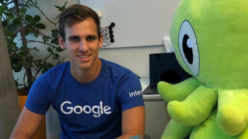 Regent University student and Google intern Maxmilianoi Gigli.