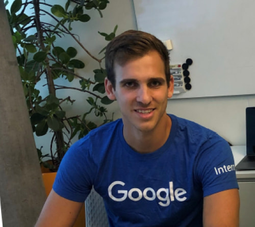 Regent University student Maximiliano Gigli is interning at Google.