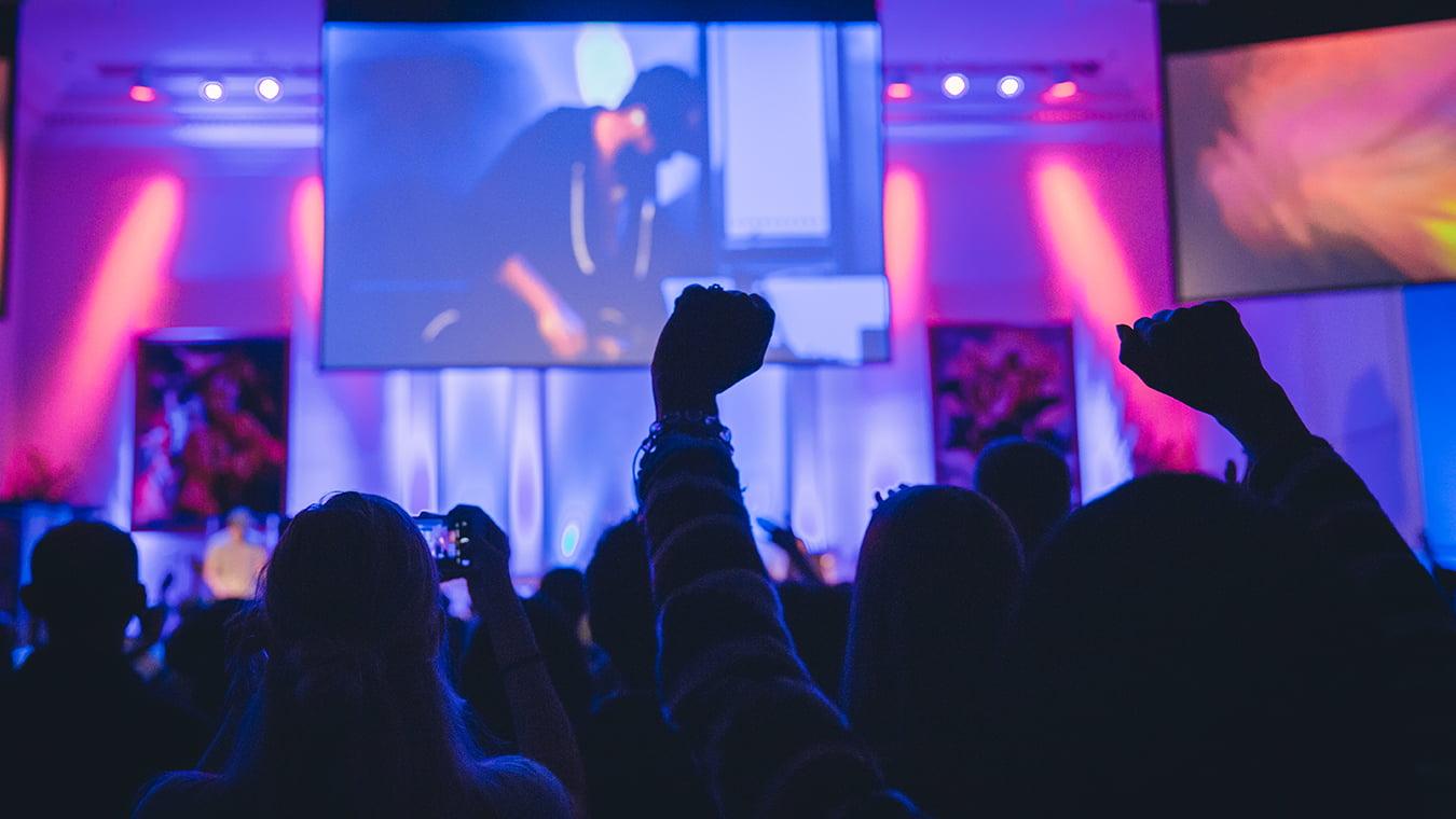 Regent University's Nights of Worship unite the campus in worshiping God.