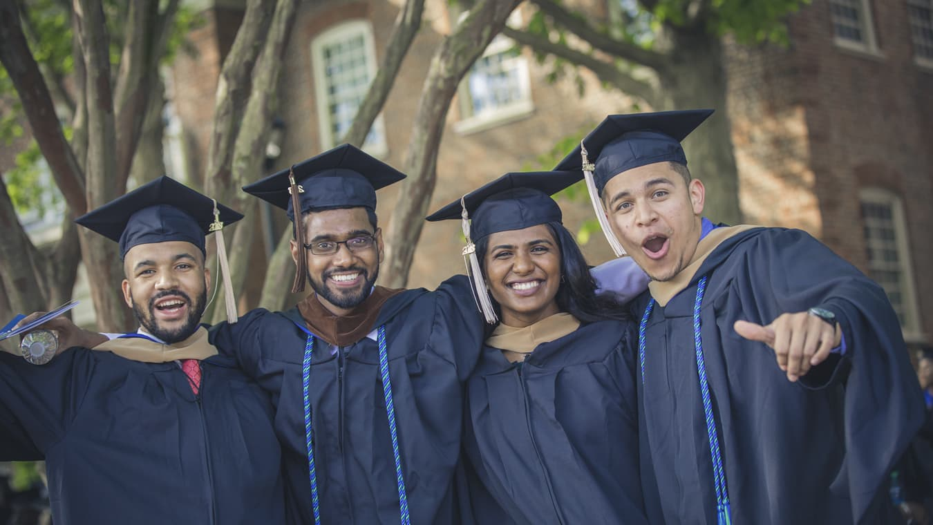 Regent University badges can be added to the resumes and Linkedin profiles of students who have earned them.