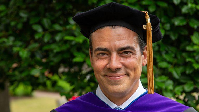 Regent University School of Law alumnus, Joe Addink.