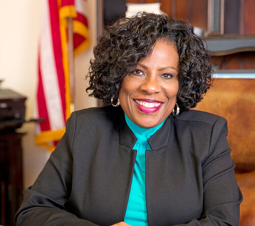 Regent University's notable alumna Mayor-President Sharon Weston Broome, School of Communication & the Arts.