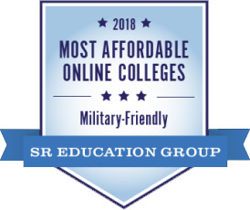 2018 Most Affordable Online Colleges Military-Friendly - SR Education group