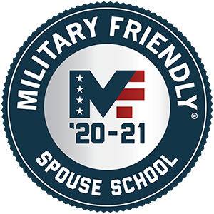 Regent University received the MF'20-21 Award from Military Friendly for being a military-friendly spouse school.